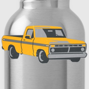 Pickup Truck Vintage-Look Shirts - Water Bottle