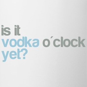 Vodka o'clock T-shirts - Mugg
