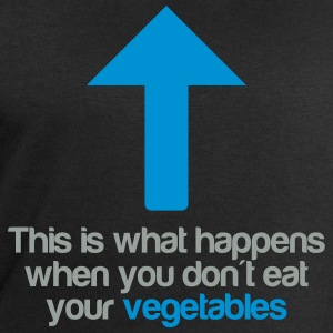 Eat your vegetables T-shirts - Sweatshirt herr från Stanley & Stella
