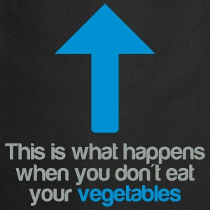 Eat your vegetables T-skjorter - Kokkeforkle