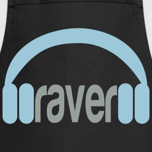 Raver Headphones T-shirts - Keukenschort