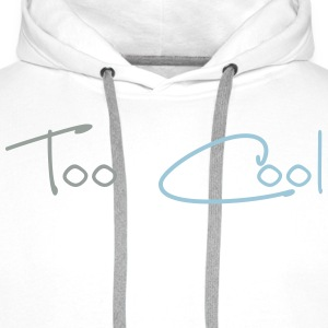 Too Cool T-skjorter - Premium hettegenser for menn