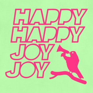 bird scream and shout: Happy Happy Joy Joy Bags  - Baby T-Shirt