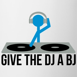 Give the DJ a BJ T-shirts - Mok