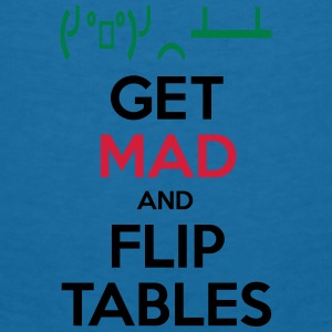 Get Mad and Flip Tables Accessories - Women's V-Neck T-Shirt