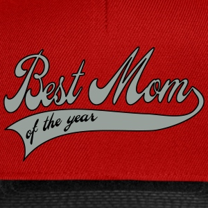 best mom of the year  - Mors Dag T-shirts - Snapback Cap