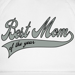best mom of the year  - Mother's Day Buttons - Baseball Cap