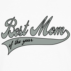 best mom of the year  - Mother's Day Buttons - Men's Premium Longsleeve Shirt