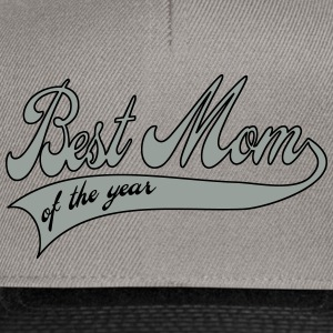best mom of the year  - Día de la Madre Sudaderas - Gorra Snapback