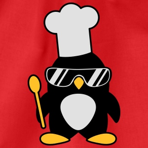 Cool Penguin Chef T-shirts - Gymtas