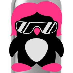 Cool Penguin Girl T-shirts - Vattenflaska