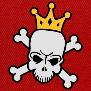 Skeleton King T-skjorter - Snapback-caps
