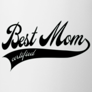 best mom certified - Mors Dag Buttons/Badges - Kop/krus