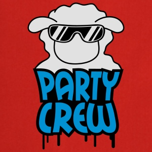 Party Crew Sheep Koszulki - Fartuch kuchenny
