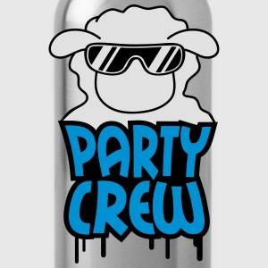 Party Crew Sheep T-Shirts - Trinkflasche