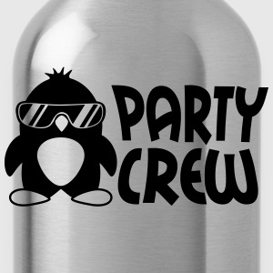Party Crew Penguin T-shirts - Drikkeflaske