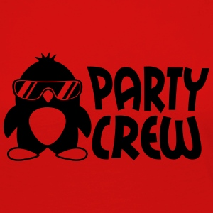 Party Crew Penguin T-Shirts - Women's Premium Longsleeve Shirt