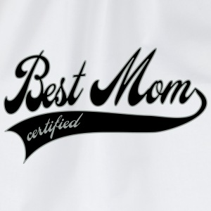 best mom certified - Mother's Day Bottles & Mugs - Drawstring Bag