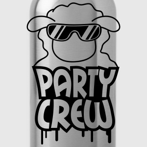 Party Crew Sheep T-shirts - Drikkeflaske