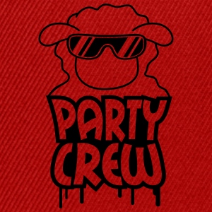Party Crew Sheep T-Shirts - Snapback Cap