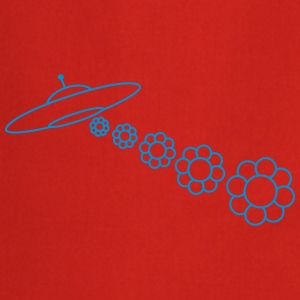 UFO Flowers T-shirts - Keukenschort