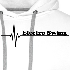 Electro Swing Long sleeve shirts - Men's Premium Hoodie