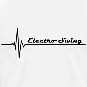 Electro Swing Long sleeve shirts - Men's Premium T-Shirt