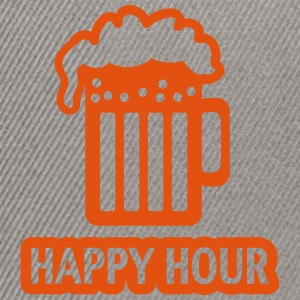 HAPPY HOUR - BEER DRINKING - GLAS  - PATRICK`S DAY Tröjor - Snapbackkeps