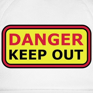 Danger Keep Out Sign Tee shirts - Casquette classique