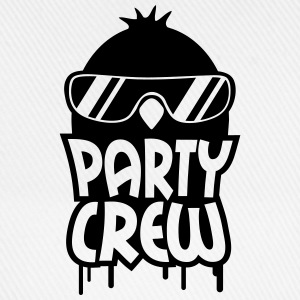 Cool Party Crew Penguin T-Shirts - Baseballkappe
