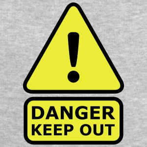 Danger Keep Out T-Shirts - Men's Sweatshirt by Stanley & Stella