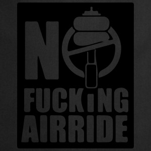 NO FUCKING AIRRIDE SYMBOL T-Shirts - Cooking Apron