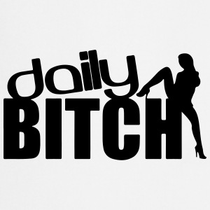 DAILY BITCH T-shirts - Keukenschort