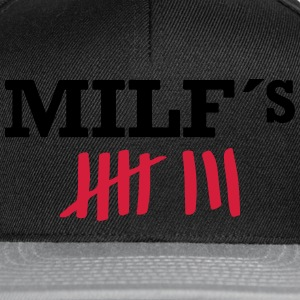 MILF HUNTER Tee shirts - Casquette snapback