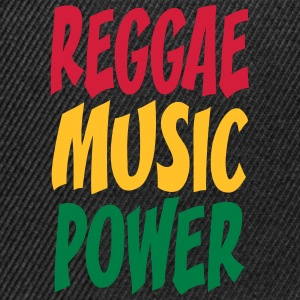 rasta music power T-Shirts - Snapback Cap