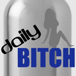DAILY BITCH T-shirts - Drinkfles