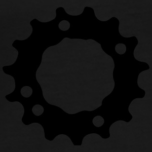 Mountain bike gear sprocket gears 1c. Bags & backpacks - Men's Premium T-Shirt