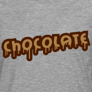 Chocolate Graffiti T-skjorter - Premium langermet T-skjorte for menn