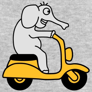 Moped Elephant T-Shirts - Men's Sweatshirt by Stanley & Stella
