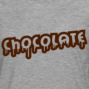 Chocolate Design T-skjorter - Premium langermet T-skjorte for menn