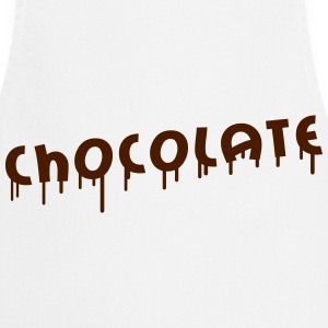 Chocolate Graffiti Tee shirts - Tablier de cuisine