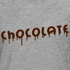 Chocolate Graffiti T-shirts - Långärmad premium-T-shirt herr