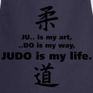 T-S Homme Judo is my life - Tablier de cuisine