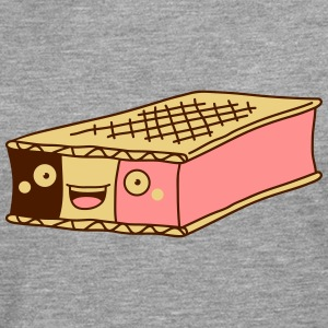 Funny Ice Cream Sandwich T-Shirts - Men's Premium Longsleeve Shirt