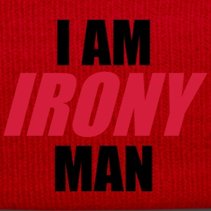 I am IRONY man T-Shirts - Winter Hat