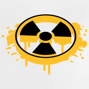 A radioactive sign as a graffiti Hoodies - Baby T-Shirt