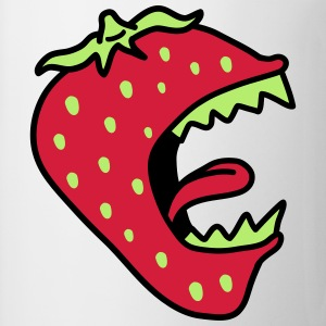 Monster Strawberry T-skjorter - Kopp