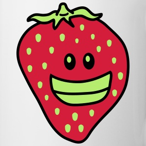 Funny Strawberry T-skjorter - Kopp