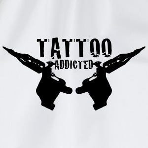 Tattoo Addicted 1c Bottles & Mugs - Drawstring Bag