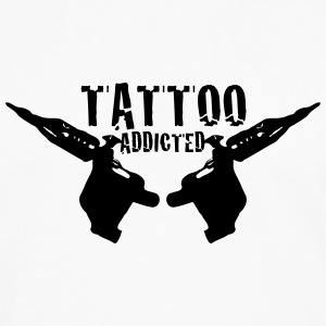 Tattoo Tattoo Addict Addicted Addiction 1c Mobil- & surfplattefodral - Långärmad premium-T-shirt herr